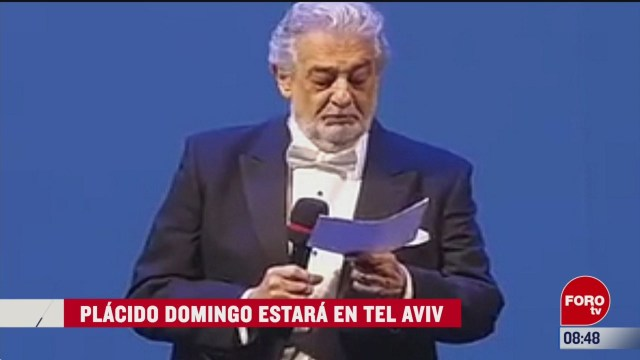 espectaculosenexpreso placido domingo estara en tel aviv