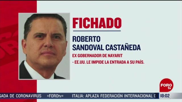 FOTO: estados unidos ficha al exgobernador roberto sandoval