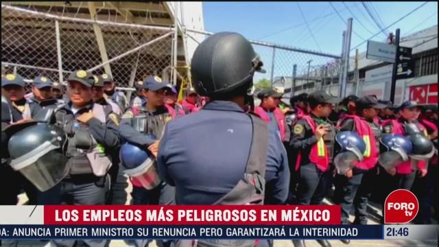 Foto: Trabajos Más Peligrosos México 20 Febrero 2020