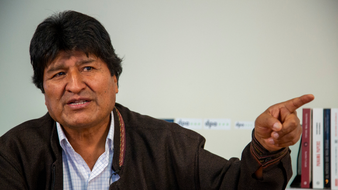 FOTO: Evo Morales recibirá título Honoris Causa de Universidad de Tierra del Fuego, el 27 de febrero de 2020