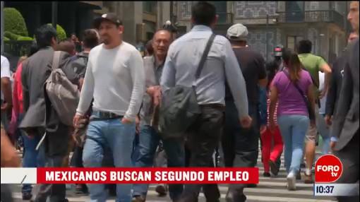 extra extra mexicanos buscan segundo empleo