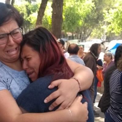 FOTO: Madre de la niña Fátima pide justicia por su hija y por todas las mujeres, el 17 de febrero de 2020