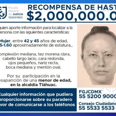 Difunden retrato hablado de la mujer que se llevó a Fátima