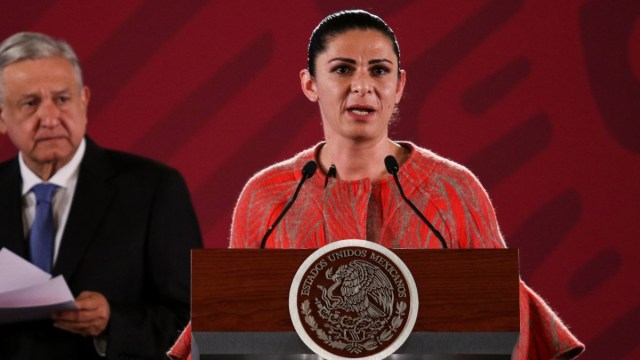 Foto: Ana Gabriela Guevara, titular de la Conade. Cuartoscuro