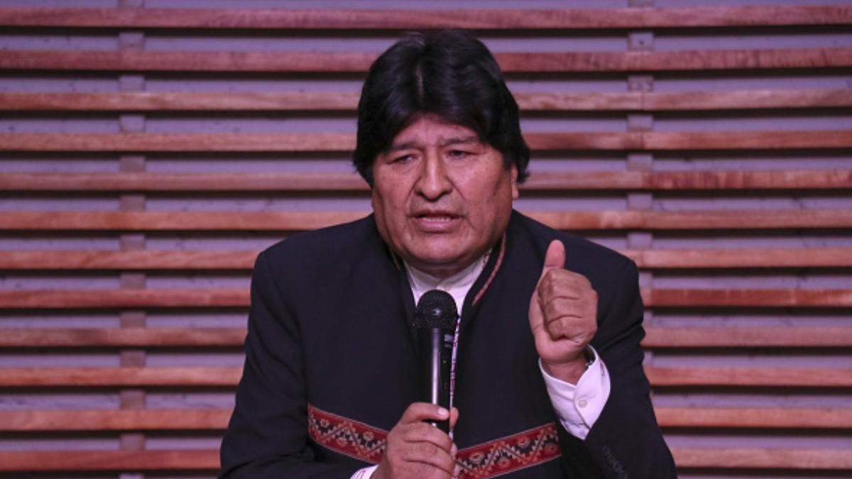 Foto: Evo Morales, expresidente de Bolivia. Getty Images