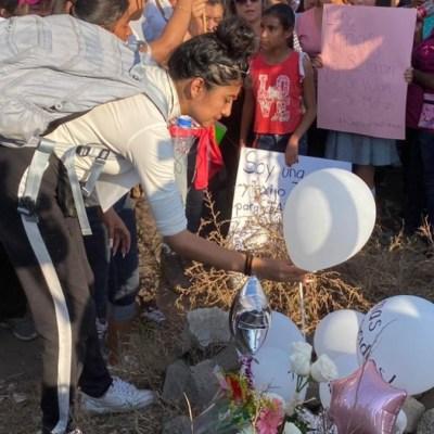 Foto: Cientos despidieron a la niña Fátima. Noticieros Televisa/Alan