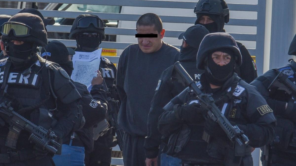 Foto: Óscar Andrés 'El Lunares', líder de la Unión Tepito. Cuartoscuro