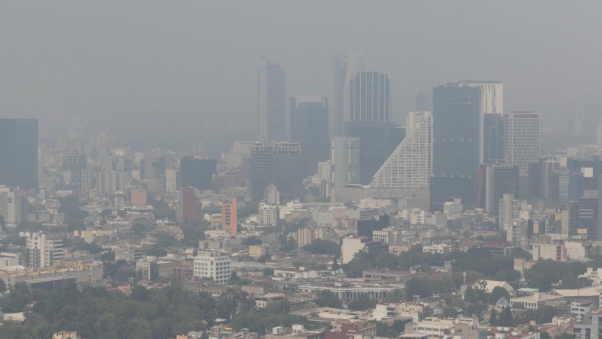 Foto: Contaminación en la Ciudad de México. Cuartoscuro