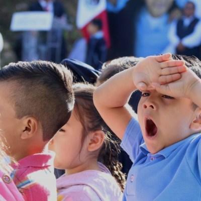 Foto: Niños regresan a clases en Oaxaca. Cuartoscuro/Archivo