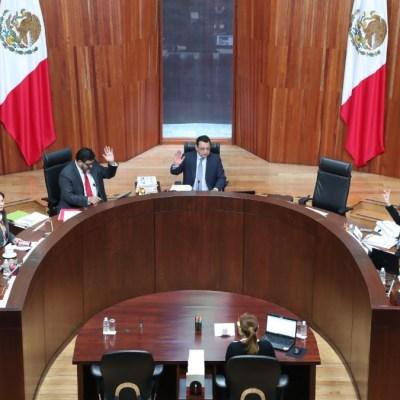 Foto: Sala Superior del Tribunal Electoral del Poder Judicial de la Federación (TEPJF). Cuartoscuro