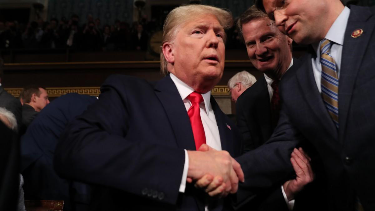 Foto: Donald Trump, presidente de Estados Unidos. Reuters
