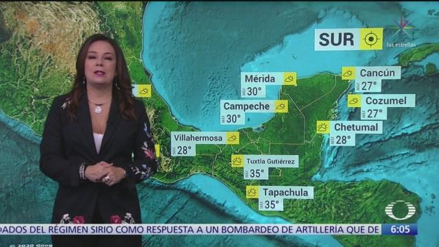 FOTO: 3 Febrero 2020, frente frio 38 provocara lluvias en mexico