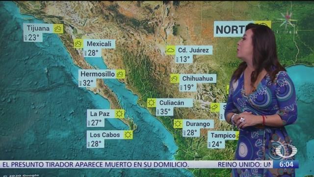 frente frio 40 provocara lluvia y bajas temperaturas en mexico