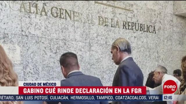 gabino cue declara ante fiscalia por desalojo de 2016 en nochixtlan