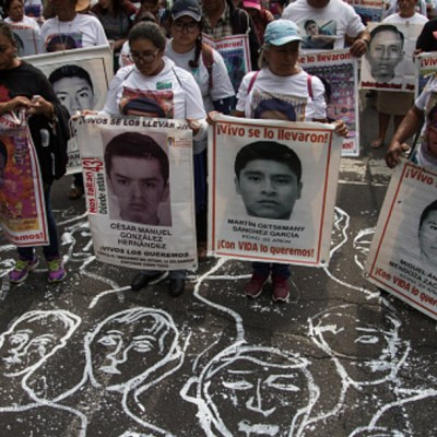 Foto: Fiscalía investiga enfrentamiento entre normalistas y policía en Chiapas, 16 de febrero de 2020, (Getty Images, archivo)