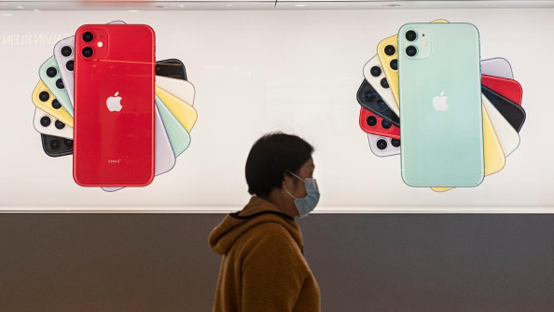 Foto: Coronavirus reducirá producción y ventas de iPhone: Apple, 17 de febrero de 2020, (Getty Images, archivo)