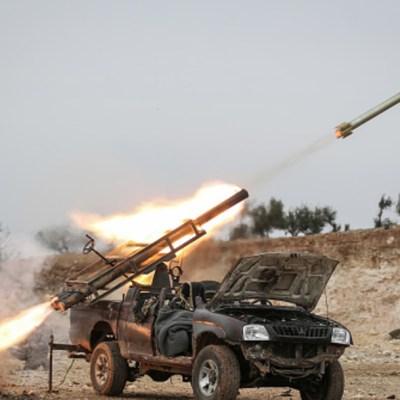 Foto: Varios misiles impactan cerca de embajada de EEUU en Irak, 15 de febrero de 2020, (Getty Images)