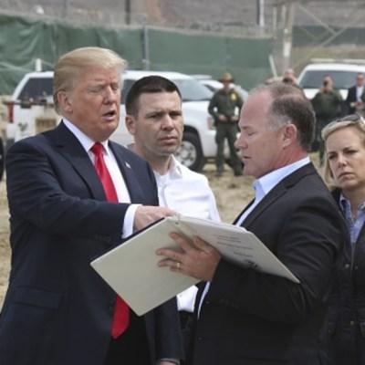 Trump pide destinar casi 4 mil millones de dólares más para muro con México