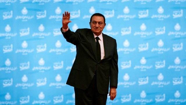 Foto: Gobierno egipcio decreta tres días de luto por muerte de Mubarak