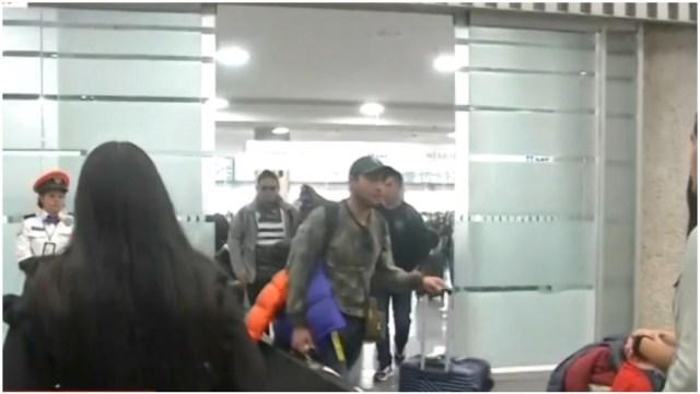 Foto: Varios mexicanos llegaron el sábado provenientes de China, 1 de febrero de 2020 (Foro TV)