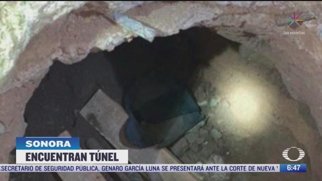 guardia nacional descubre narcotunel en nogales sonora