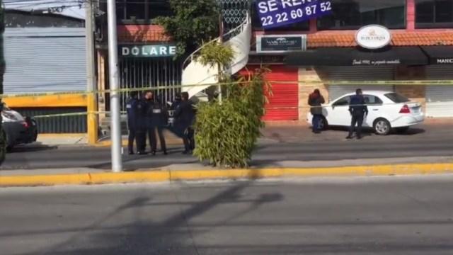 Foto: Fiscalía de Puebla investiga el asesinato de dos hombres en un bar, 2 febrero 2020