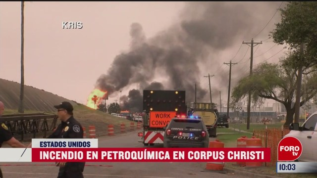 incendio en petroquimica texas estados unidos