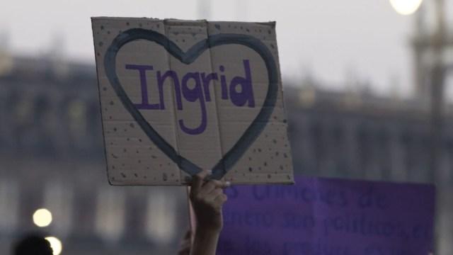 Foto: Protestan por feminicidio de Ingrid Escamilla. Cuartoscuro