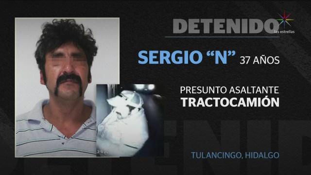 Foto: Video RobO Tractocamión Tulancingo Hidalgo 10 Febrero 2020