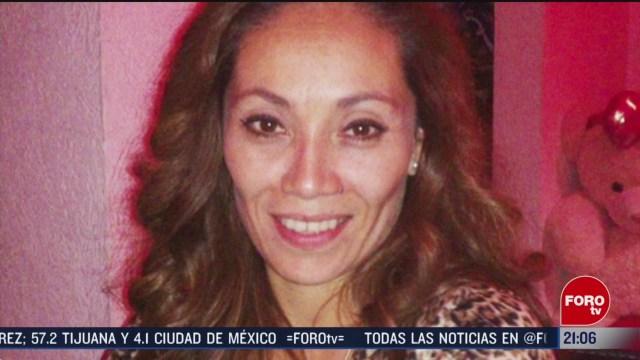 Foto: Jacqueline Vázquez Investigan Caso Secuestrada Esposo 13 Febrero 2020