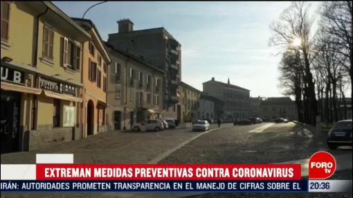 Foto: Italia Endurece Medidas Preventivas Contra Coronavirus 24 Febrero 2020