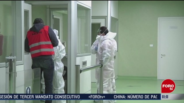 FOTO: 22 Febrero 2020, italia esta en alerta por contagio de coronavirus