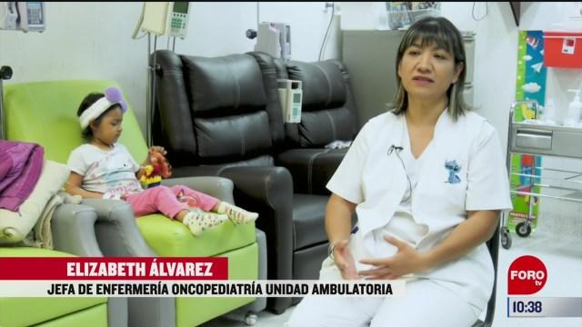 jefa de enfermeria oncopediatria unidad ambulatoria