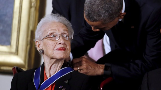 Foto: Katherine Johnson, matemática de la NASA, muere a los 101 años