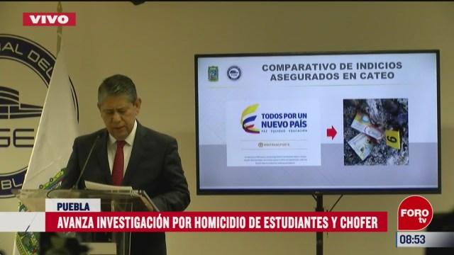 la fiscalia general del estado de puebla encuentra indicios de caso de los estudiantes asesinados