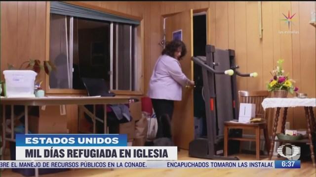 la mexicana rosa sabido cumple mil dias refugiada en iglesia de colorado