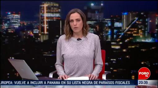 Foto: Las Noticias Ana Francisca Vega Programa Completo Forotv 18 Febrero 2020