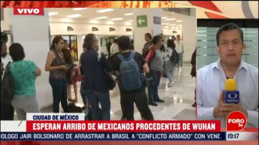 FOTO: 16 Febrero 2020, llega a mexico avion con connacionales provenientes de china
