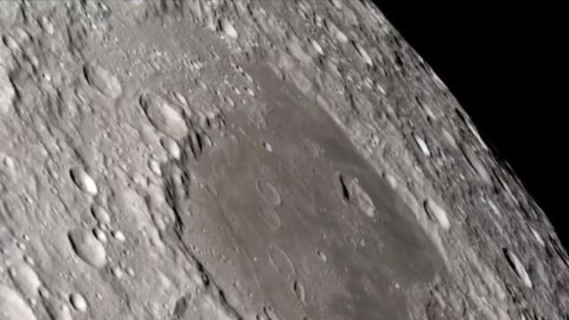 FOTO: Video: El lado oscuro de la Luna en 4K, el 26 de febrero de 2020