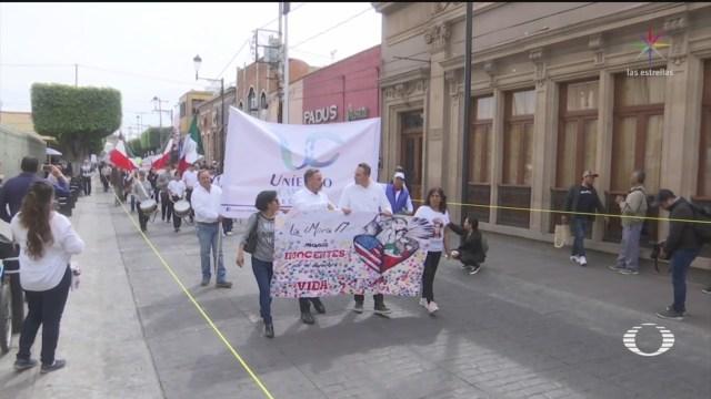 FOTO: 3 Febrero 2020, marchan por la vida y la seguridad en leon guanajuato