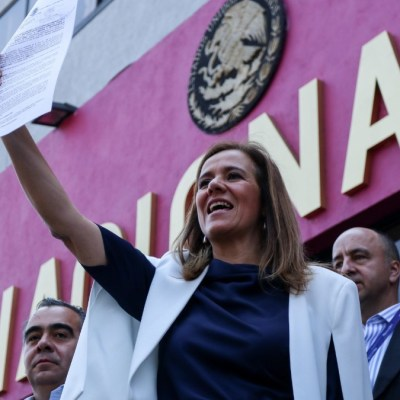 Zavala solicita registro de México Libre como partido