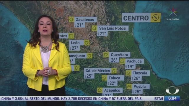 masa de aire mantendra bajas temperaturas en mexico