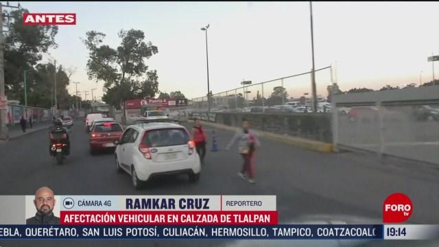 FOTO: 29 febrero 2020, mejora transito vehicular en las inmediaciones del estadio azteca
