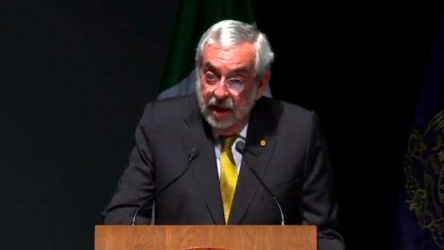 Foto: Rector UNAM anuncia creación de la Coordinación de Igualdad de Género
