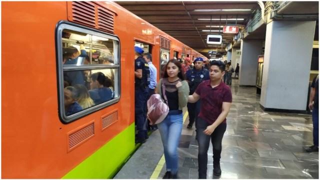Imagen: Autoridades aseguran que los robos se han reducido en el Metro de la CDMX, 9 de febrero de 2020 (STC)