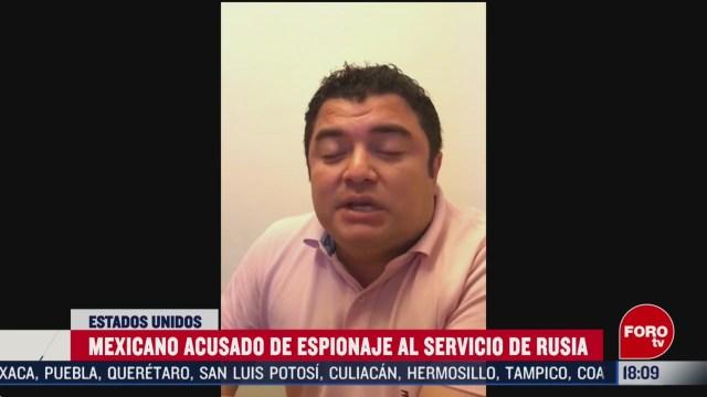 FOTO: mexicano en eeuu es acusado de espionaje al servicio de rusia