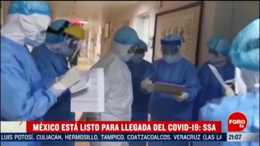 Foto: México Está Listo Llegada Covid19 Ssa 27 Febrero 2020