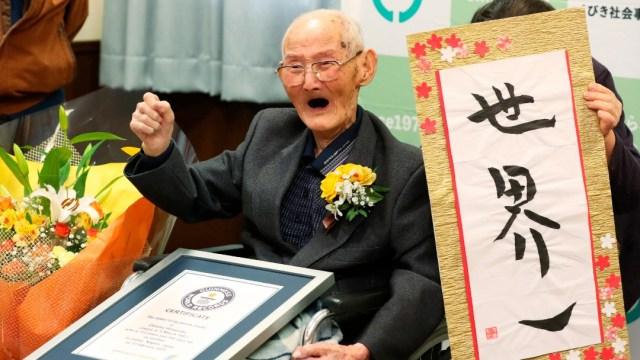 Foto: Muere el hombre más anciano del mundo 11 días después de recibir el Guinness