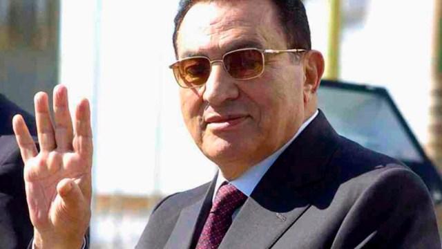 Muere Hosni Mubarak