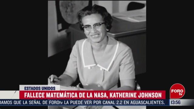 FOTO: muere la matematica katherine johnson en eeuu